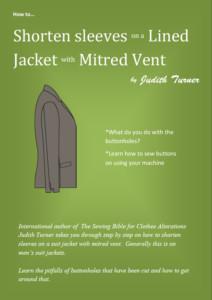 Jacket mitred vent