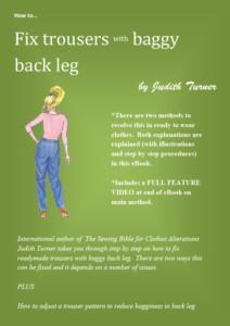 Fix baggy back leg cover